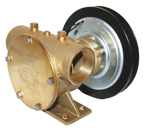 """Jabsco Heavy Duty Bronze Clutch Pump 1 1/2"""" - 50200 (J50-144 to J50-147 Jabsco 50200)"""