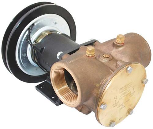 "Jabsco Heavy Duty Bronze Clutch Pump 2"" - 50270"