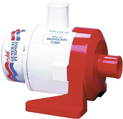 Rule General Purpose Pump 3700/3800 GPH 12v/24v (RWB8A/RWB8B)