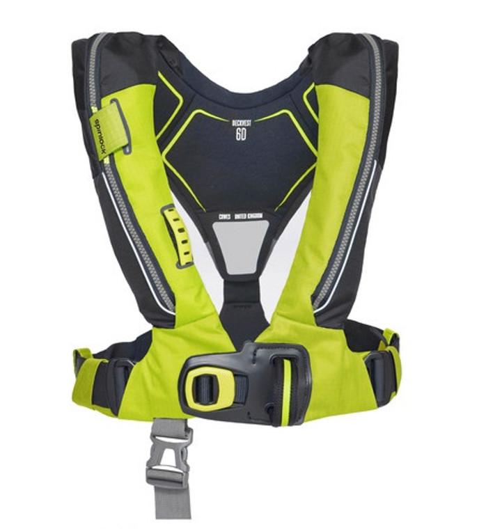 Spinlock Deckvest 6D Lifejacket with HRS - Citrus Yellow
