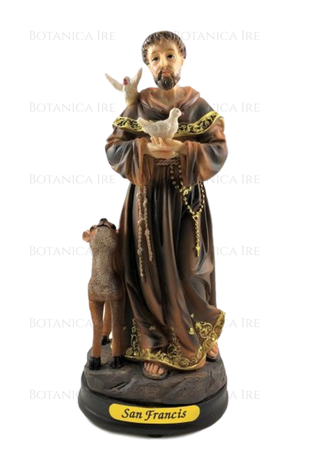 """St Saint Francis of Assisi Statue 8"""""""