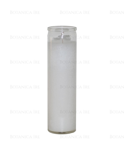 7 Day Candle | Plain White