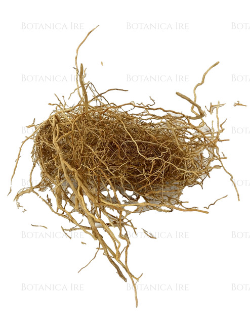 Dried Patchouli Root. 0.25 Oz. Patchouli is commonly use for spell work, wicca, candles, aromatic uses, or to add to colognes, sachets and more.