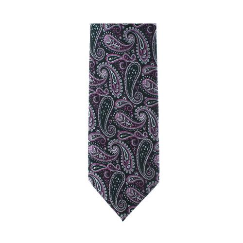 Purple Paisley Necktie