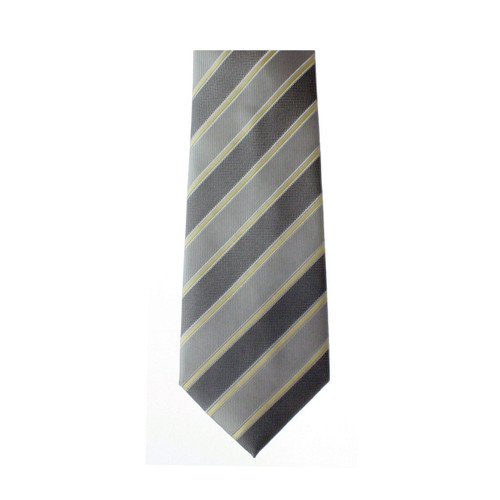 Kaiback Tagatie - Gray & Gold Striped