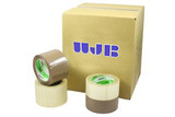 Closure of lightweight boxes for short term use. Aggressive instant adhesion.