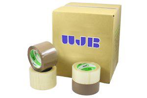 Machine Acrylic Tape - 48mm x 914M - 2.0 mil Clear (6 Rolls Per Case)