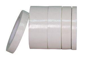 """3/4"""" x 60 yd - 120# TS Filament Tape (48 Rolls Per Case)"""