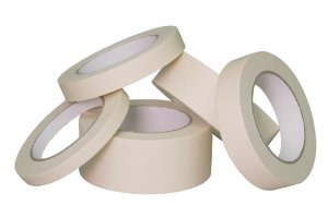 "1"" x 60 yd Natural Masking Tape (36 Rolls Per Case)"
