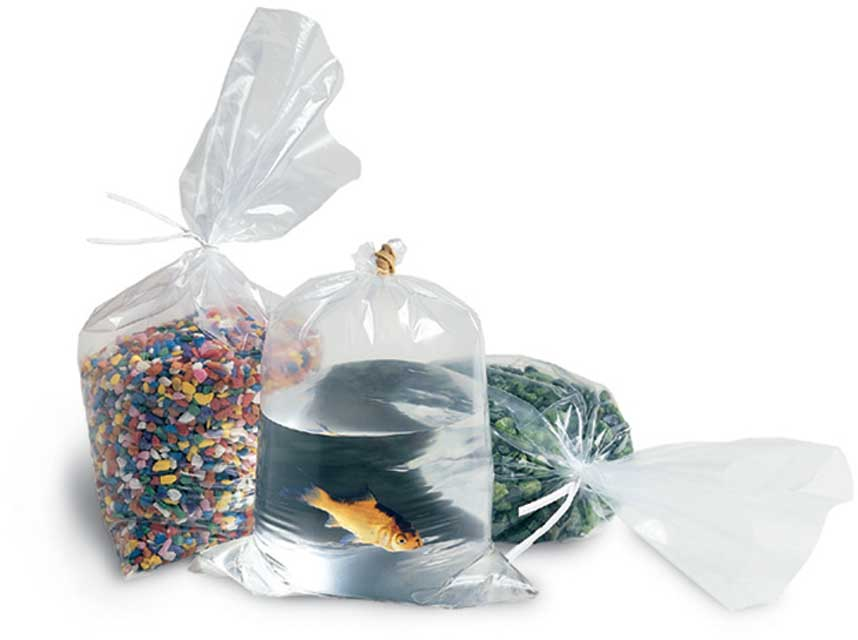 """14""""x20"""" Clear 2mil Poly Bags (Open End)"""