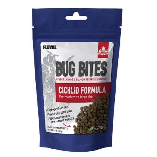 Bug Bites Cichlid Pellets (M-L), 3.5 oz (100 g)