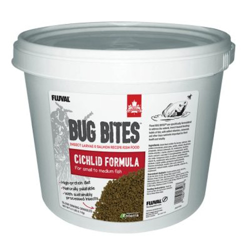 Bug Bites Cichlid Granules (S-M), 3.7 lb (1.7 kg)