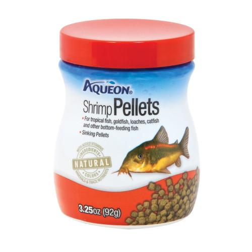 Aqueon Shrimp Pellet Fish food 3.25oz Jar