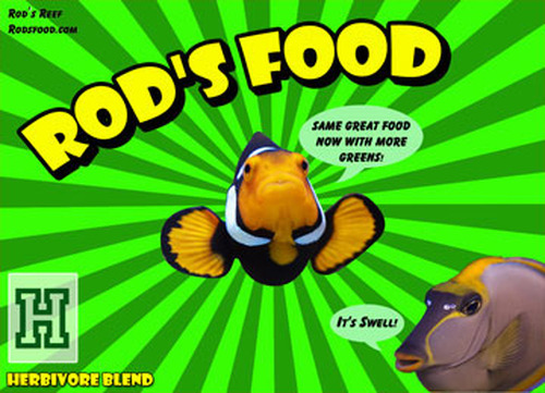 Rod's Food Herbivore Blend