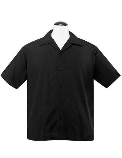 Steady Custom Poplin Shirt - Black