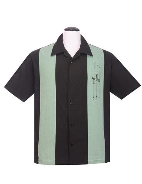 Steady The Shakedown Button Up - Black