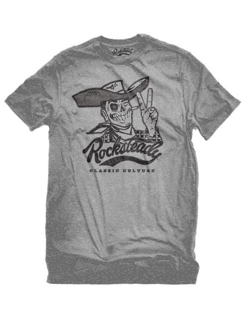Steady Skully Tee - Grey (M)