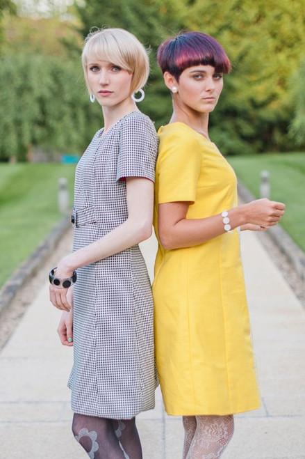 Stoned Love Mod Dress - Daisy - Yellow