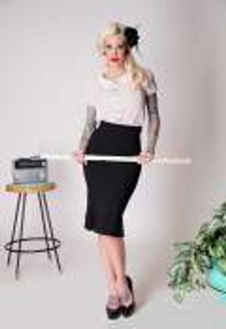 Tatyana Catwalk Skirt - Black