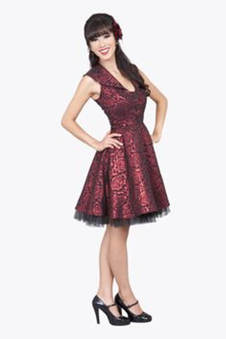 Tatyana Glitter Red