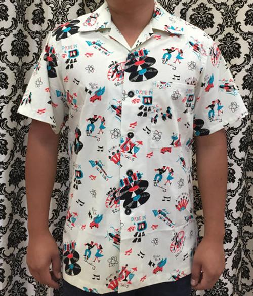 Bernie Dexter Mens Shirt - Atomic Festival
