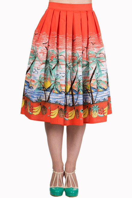 Banned Palm Springs Circle Skirt