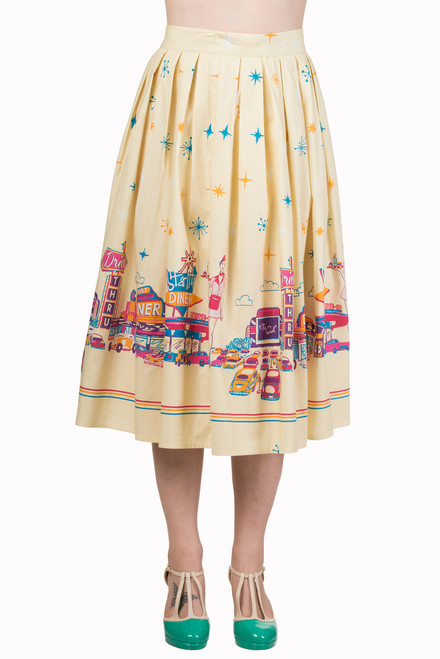Banned Hold Tight Circle Skirt