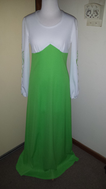 Vintage 70s Maxi Dress