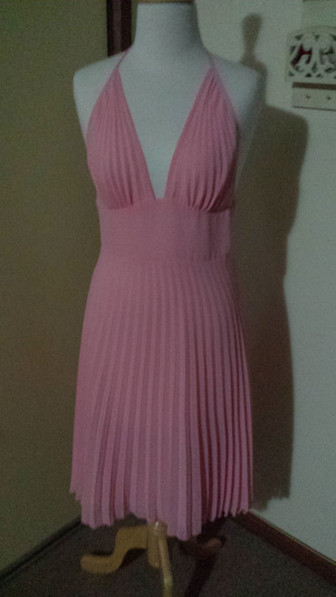 REVIEW peach party dress