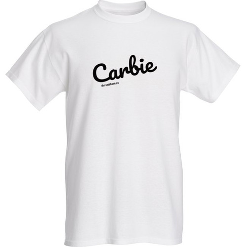 the Stubborn Co - crew tee - LIMITED collection - 'CARBIE' [wht]