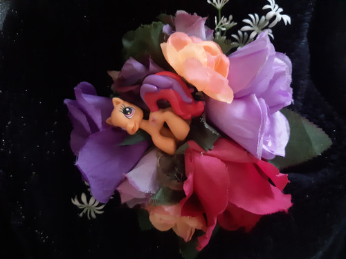 'My Little Pony' hair flower