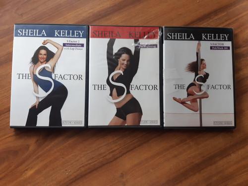 SHEILA KELLEY - triple dvd pack