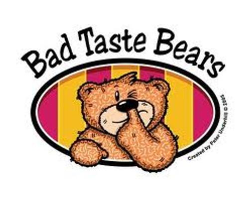 BAD TASTE BEAR - AC/DC (pair)