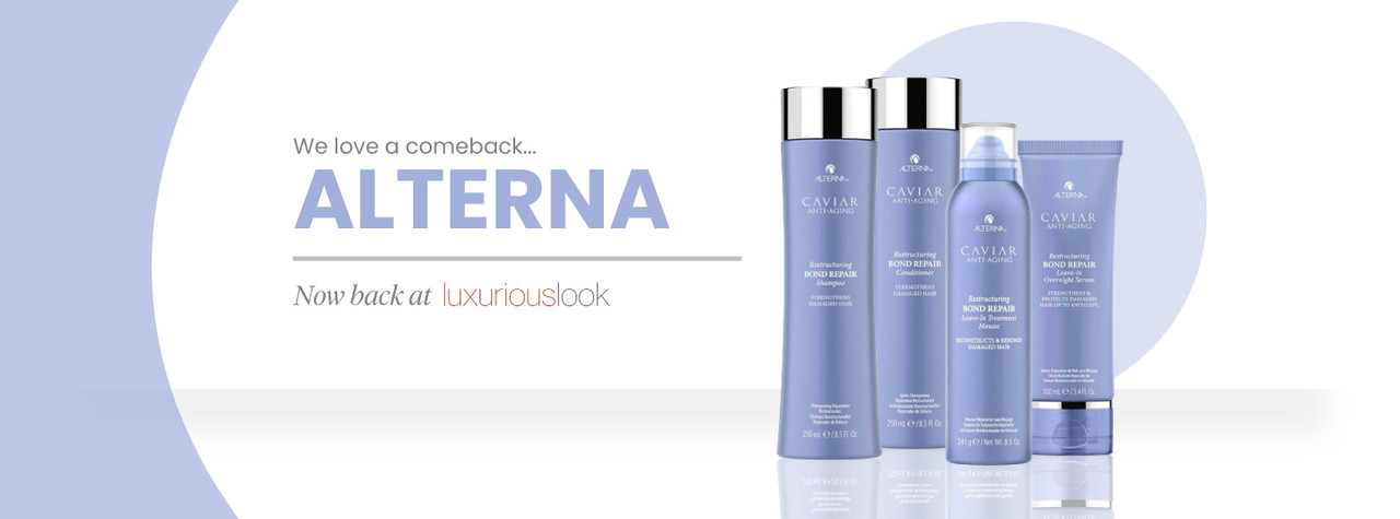 Alterna Haircare - Back At Luxurious Look