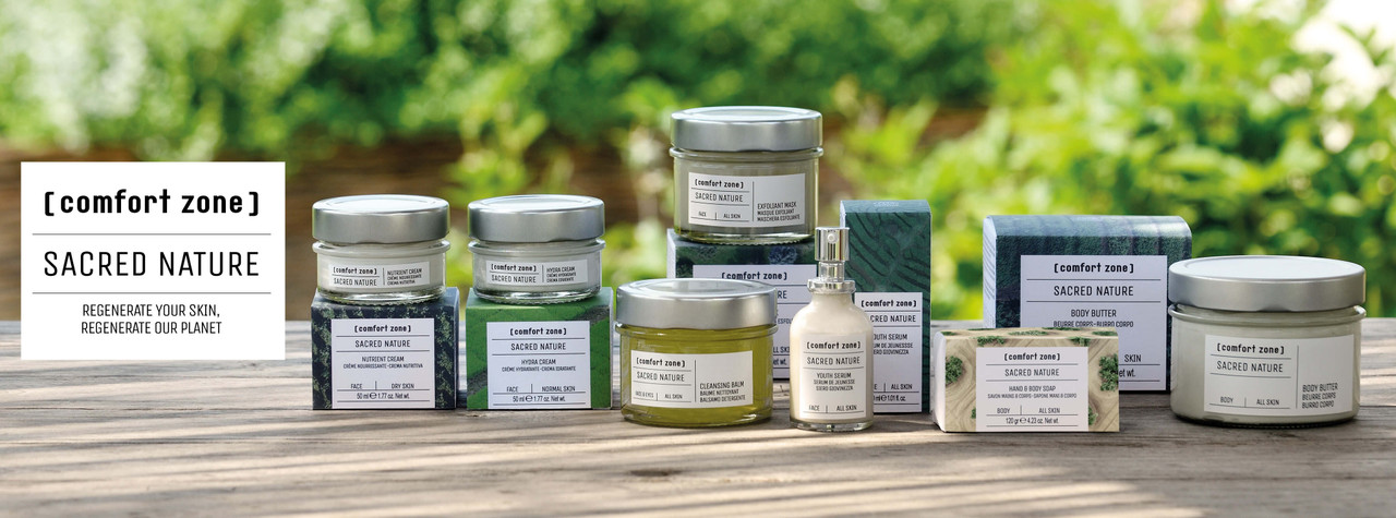 The Sacred Nature Range from Comfort Zone now at Luxurious Look