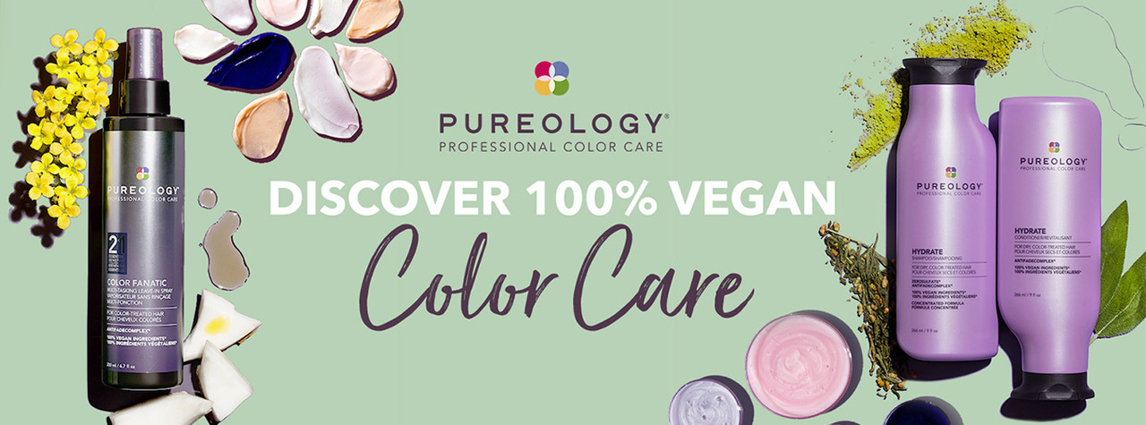Discover 100% Vegan Colour Care