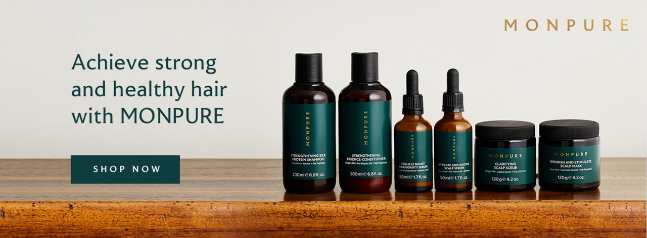 Achieve strong and healthy hair with Monpure