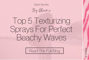 Top 5 Texturizing Sprays For Perfect Beachy Waves