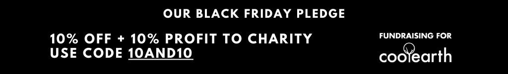 Our Black Friday Pledge