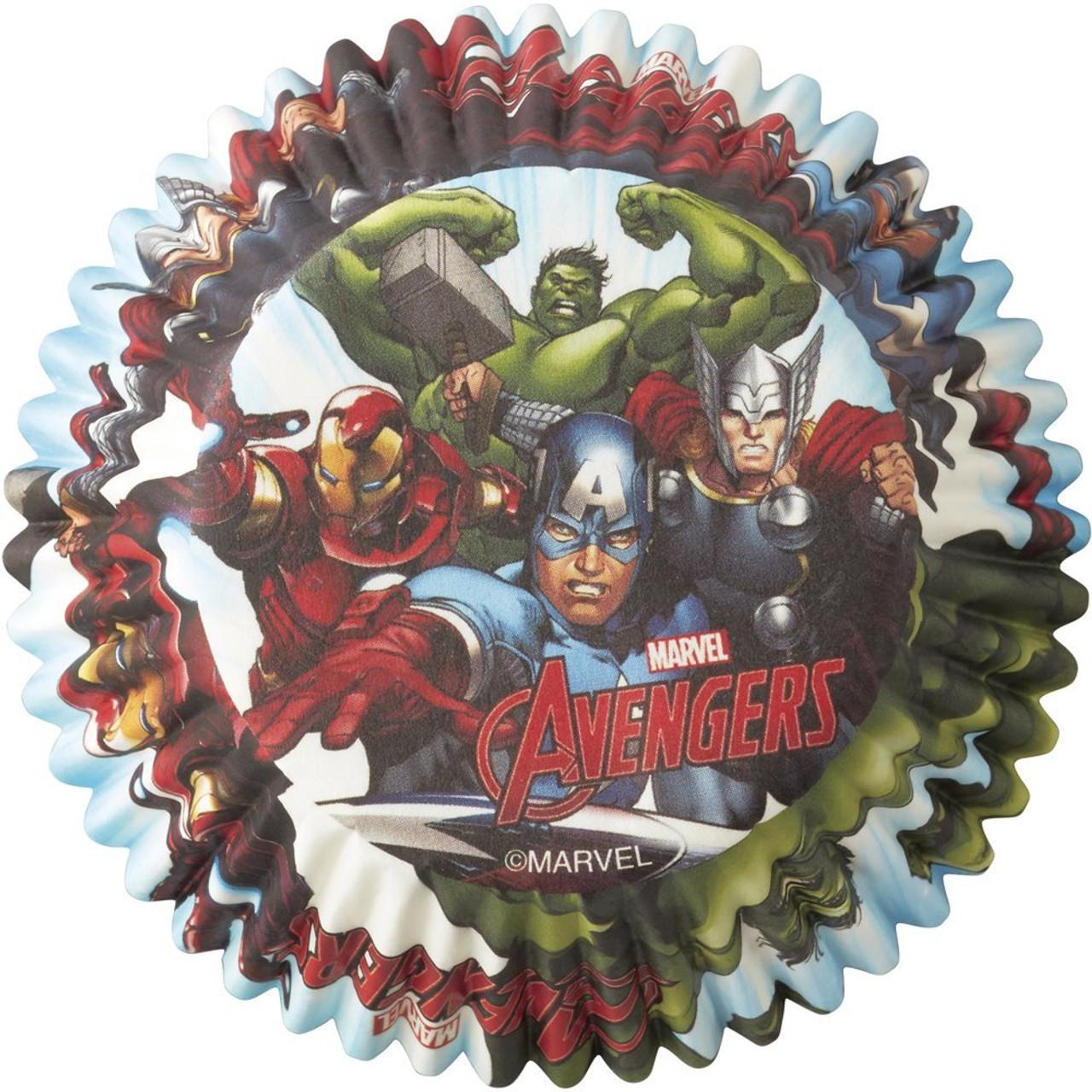 6pc Set Avengers Marvel Comics Avengers Assemble Sandwich Containers Novelty C