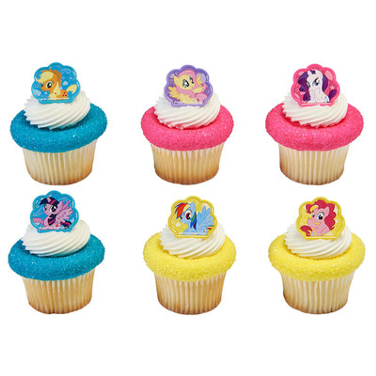 Enjoyable My Little Pony Cake And Cupcake Toppers Funny Birthday Cards Online Kookostrdamsfinfo