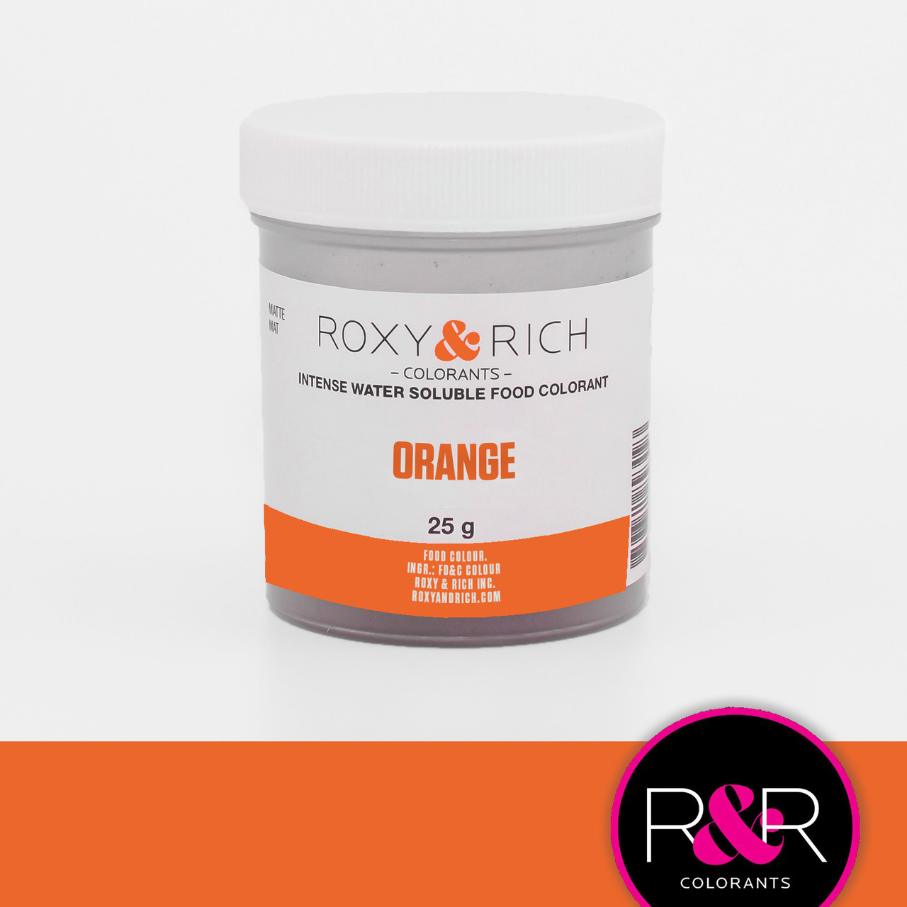 Water Soluble Color Orange