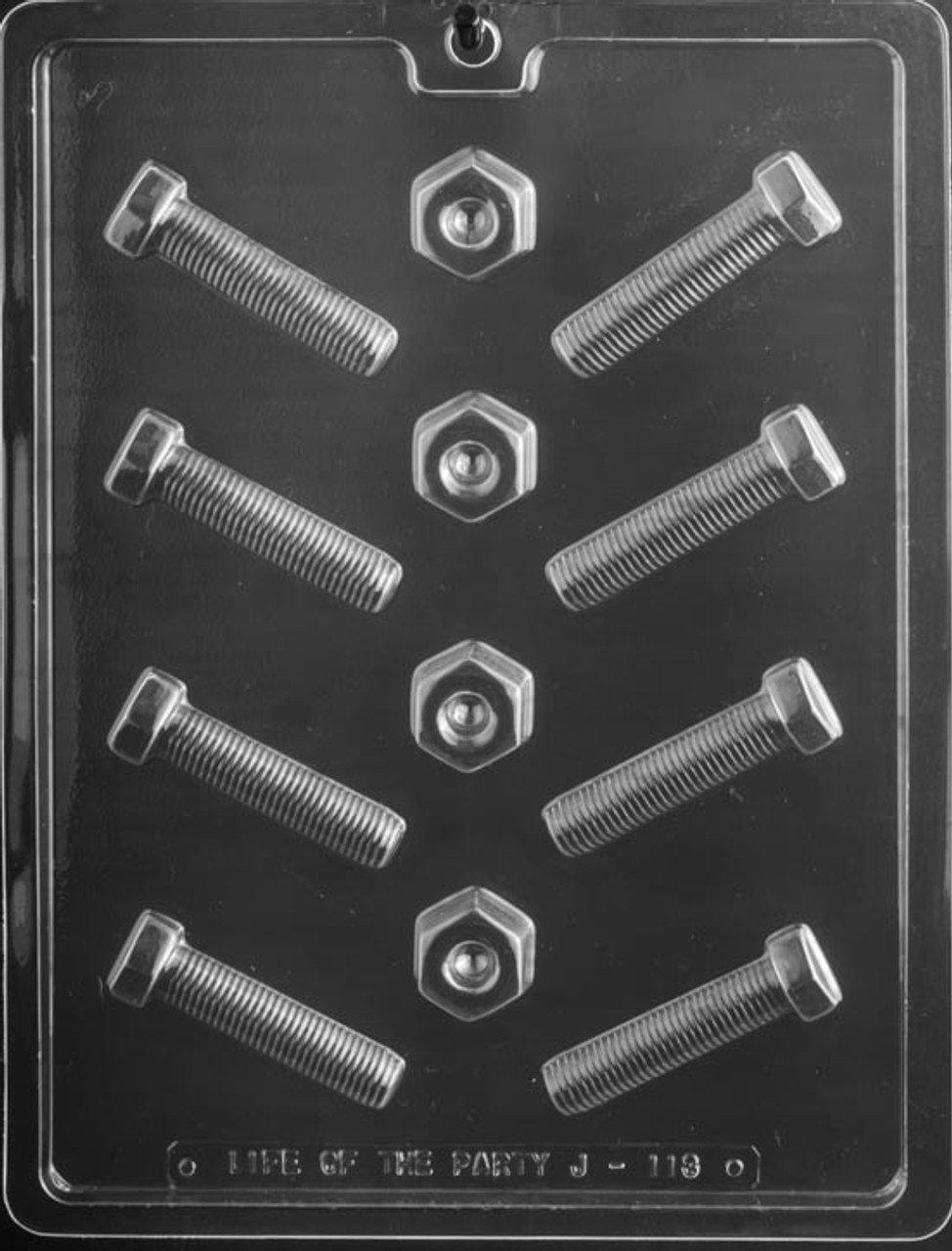 DADS-NUTS AND BOLTS CHOCOLATE CANDY MOLD