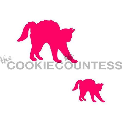 Black Cat Cookie Stencils