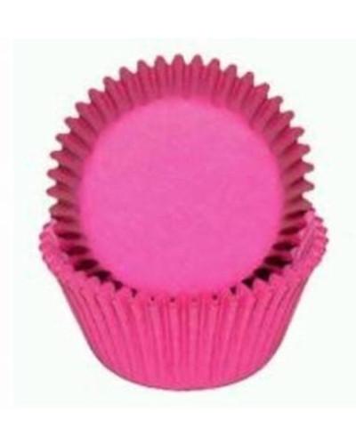 Pink Mini Cupcake Liners