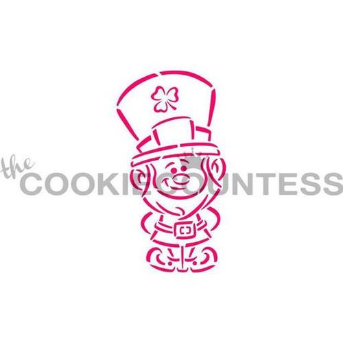 Leprechaun PYO Cookie Stencil