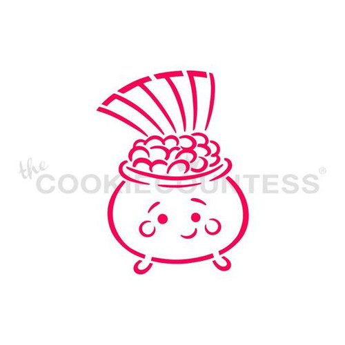 Pot Of Gold PYO Cookie Stencil