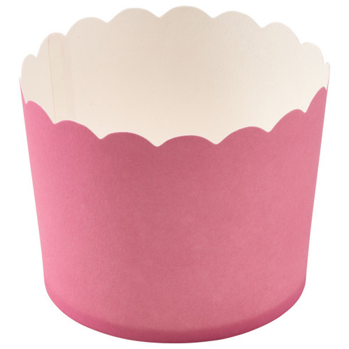 Pink Scalloped Cupcake Liners (12 pc)