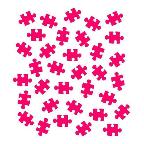 Puzzle Piece cookie stencil