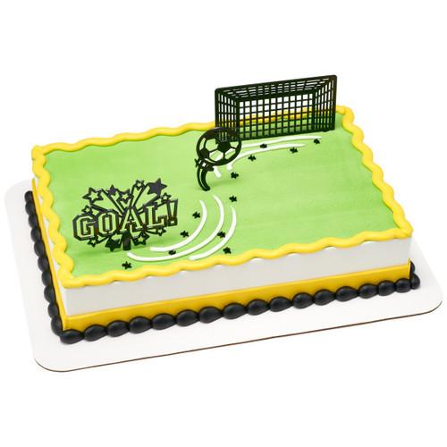 Soccer Goal Cake Topper (3pc)
